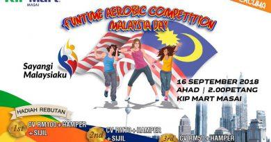 Funtime Aerobic Competition sempena Hari Malaysia