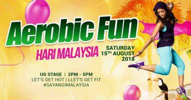 Aerobic FUN Dance Hari Malaysia