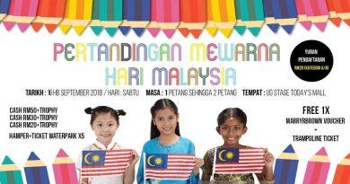 Pertandingan Mewarna Hari Malaysia