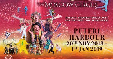 JOHOR - The Moscow Circus Malaysia Tour