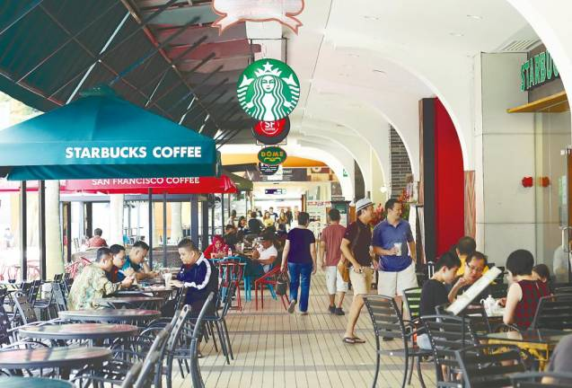F&B outlets get bigger bite in shopping malls