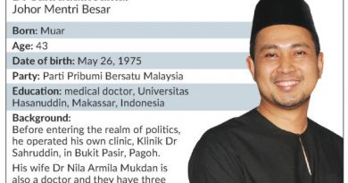 New MB continues legacy of state leaders from Muar