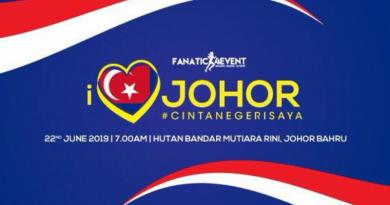I Love Johor Run 2019