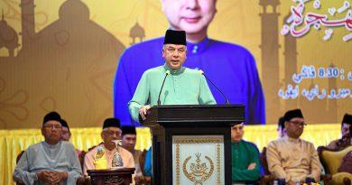 Sultan Nazrin: Stop hate speech