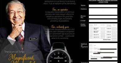 Watch out! Dr M timepieces a hoax
