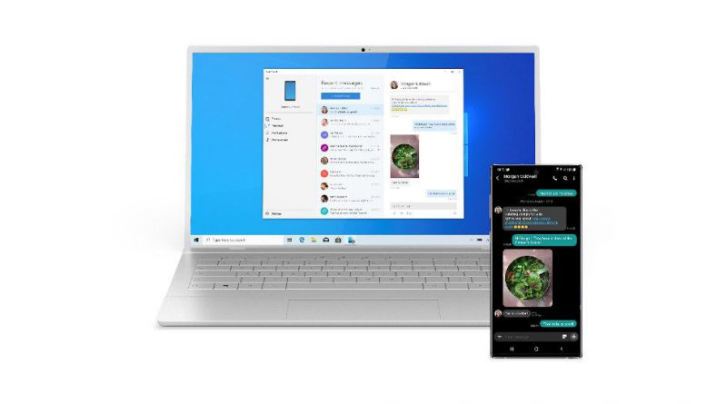 Windows 10 Your Phone app could get a nifty feature for swapping files between PC and phone