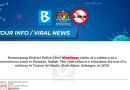 COVID-19: List of fake news as at 9am today - KKMM
