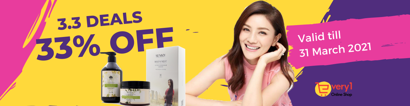 3.3 Super Sale is here | Get up to 33% OFF on SEMNY Hair Care Products